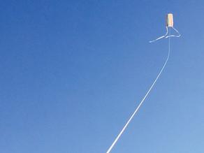 年末の凧づくりワークショップ