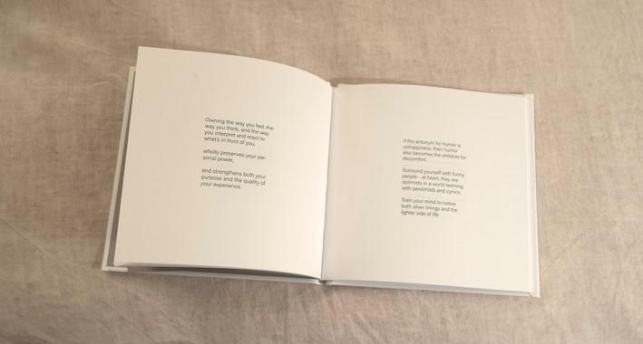 LUXURIATE IN DISCOMFORT - Book