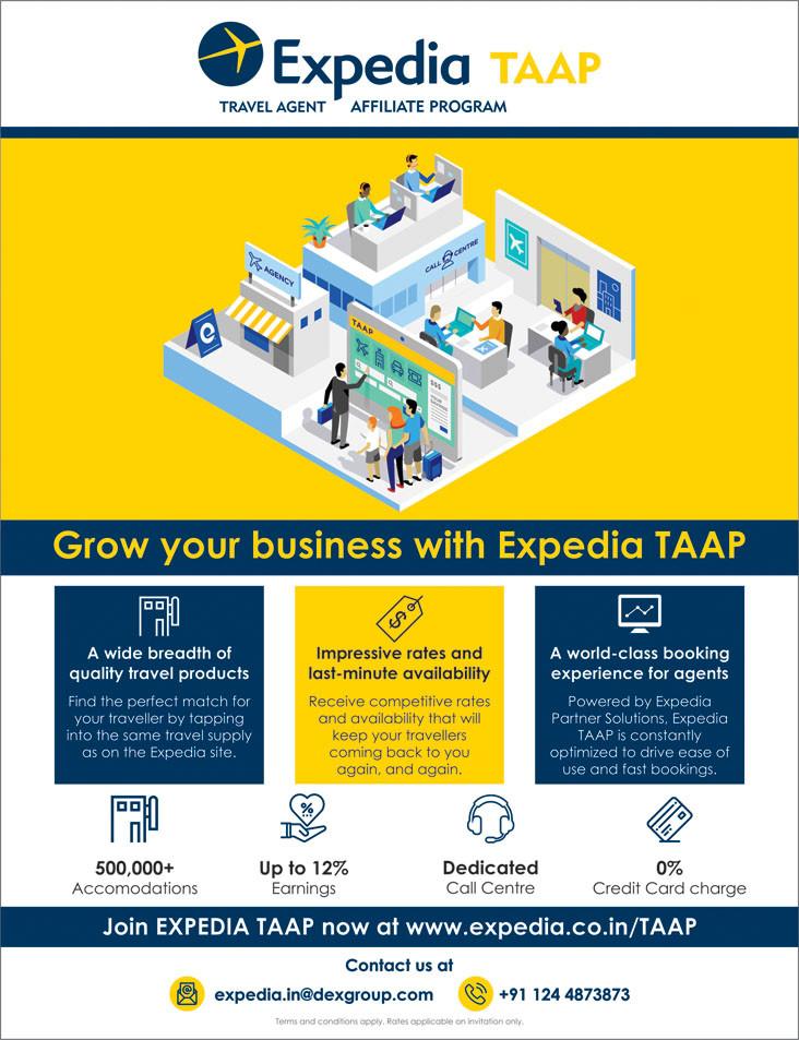 Expedia India B2B Travel Agent Portal