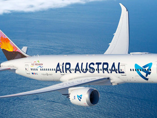 DEX appointed GSA for Air Austral