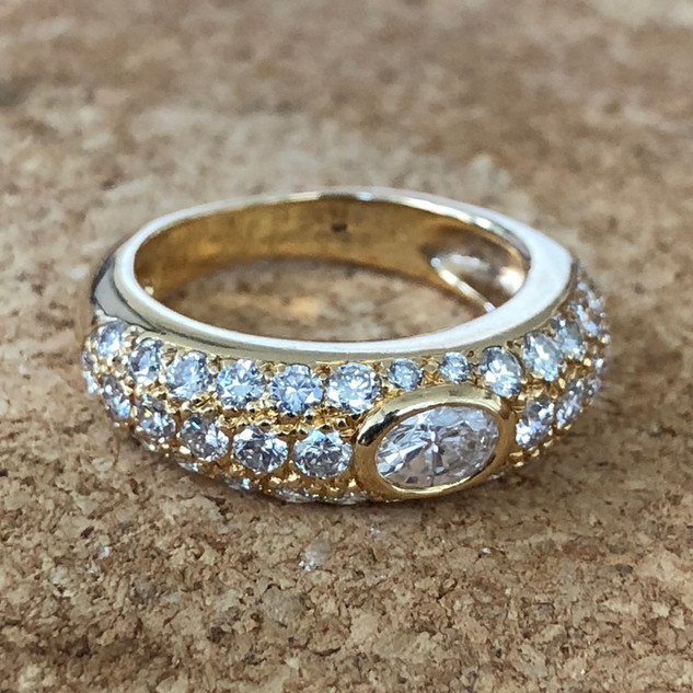 Vintage Cartier Engagement Ring