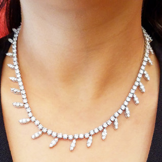 Diamond Necklace by Carvin French