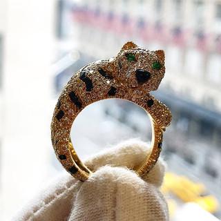 Rare Vintage ''Panthère'' Cartier Ring