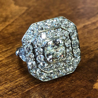 Magnificent Vintage Diamond Ring