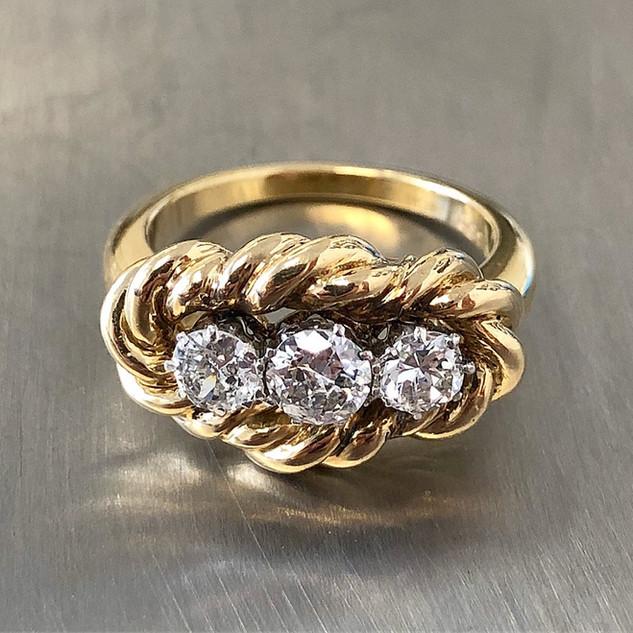 Vintage Van Cleef and Arpels Diamond Ring