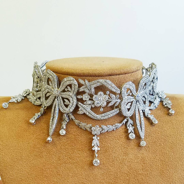 Highly Important Edwardian Diamond Necklace