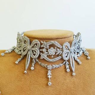 Highly Important Edwardian Diamond Necklace