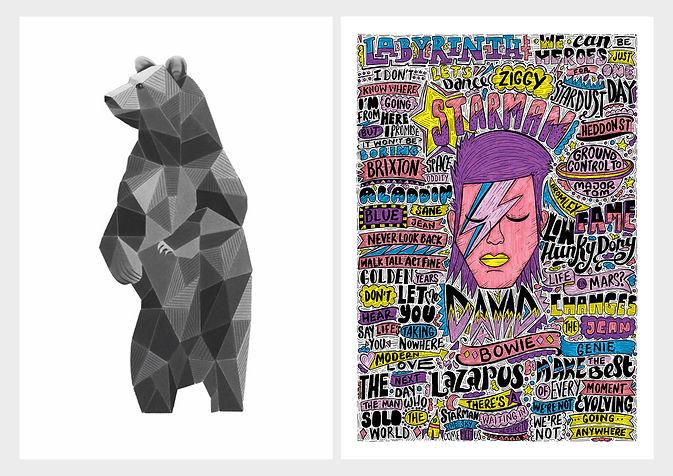 Bear, Bowie