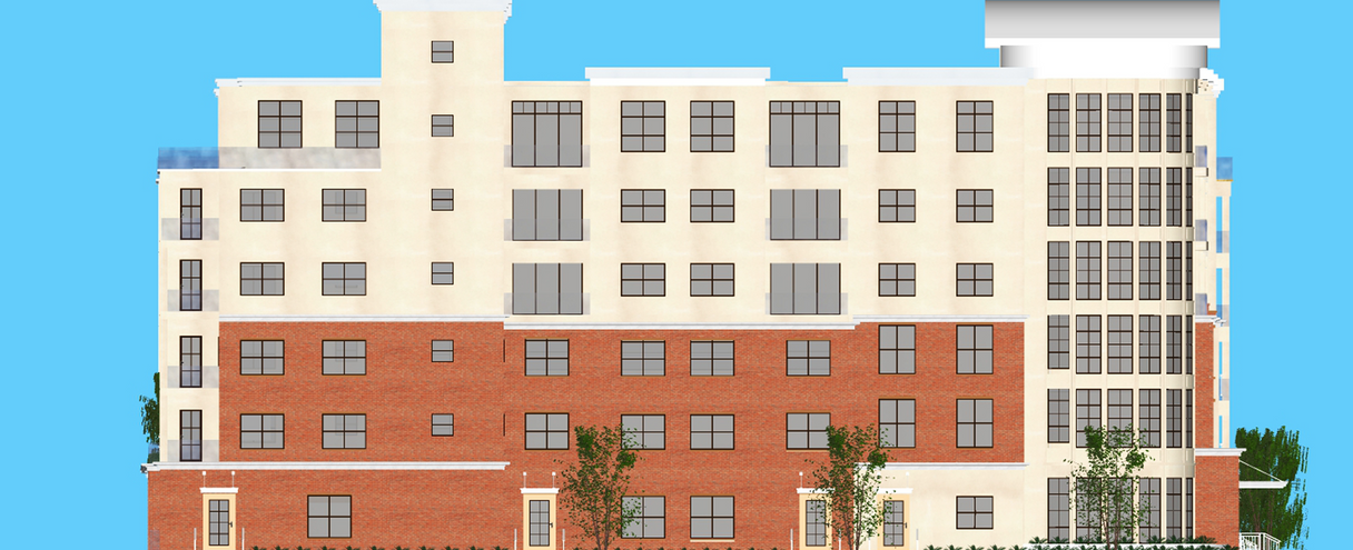 Lynx Professional Services Case Study: Walnut Grove - Left side elevation | Outsourced Expert Architectural Services - USA
