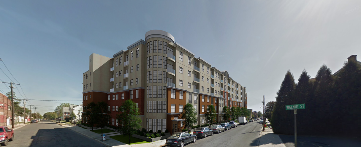 Lynx Professional Services Case Study: Walnut Grove - Street view perspective 2 | Outsourced Expert Architectural Services - USA