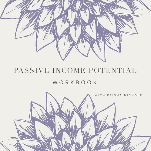 Passive Income Potential Workbook for Beginners