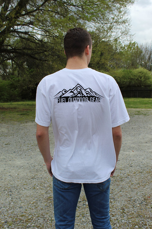 Take Me to the Mountains Shirt, White