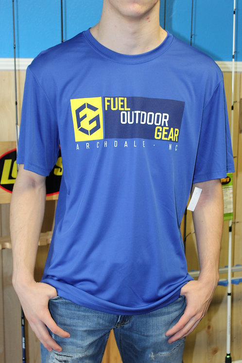 Fuel Gear Royal Blue Fishing Shirt
