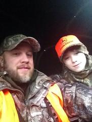 Jason with son