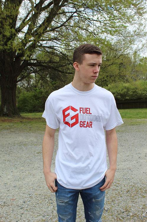 Fuel Gear Logo Shirt 2020 Edition, White