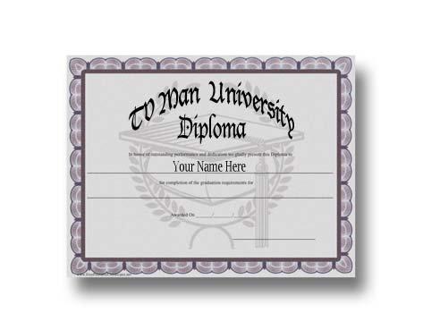 TVMan University Diploma
