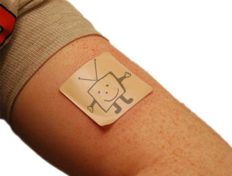 TVMan Nicotine Patch