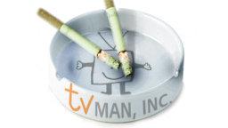 TVMan Ash Tray