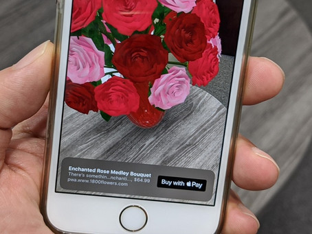 Apple now lets you purchase products in augmented reality