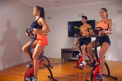 wayflex body rocker - rowing & cycling