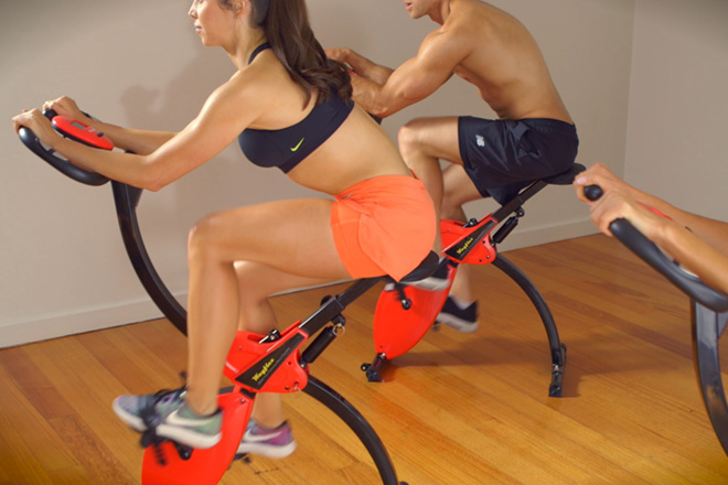 wayflex body rocker - the combination of rowing and cycling