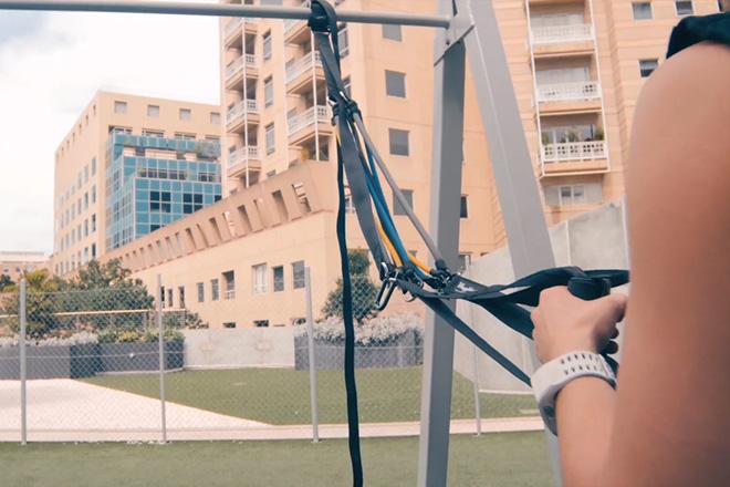 wayflex suspension & resistance trainer