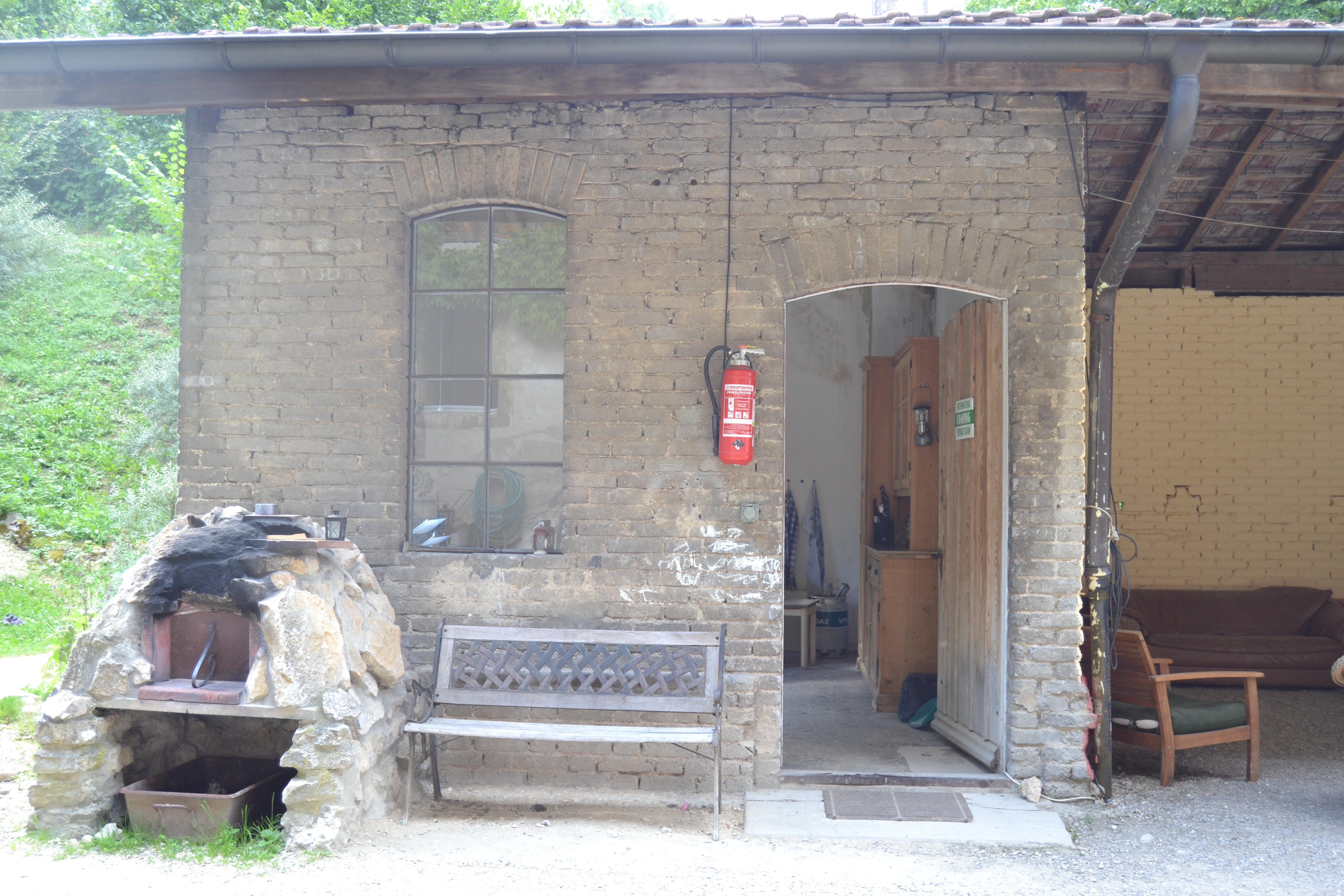 Eingang Aussenküche