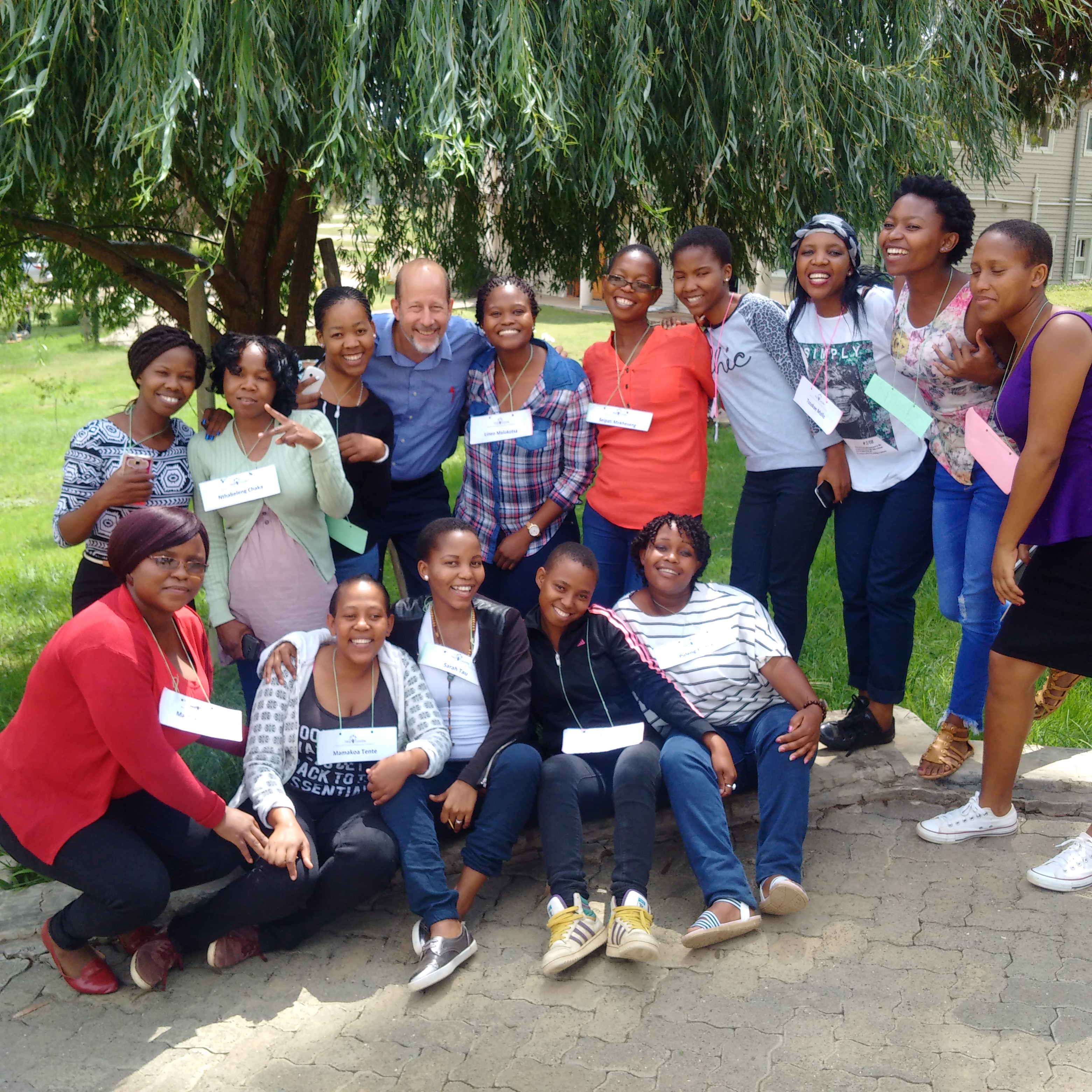 Students in Lesotho Southern Africa