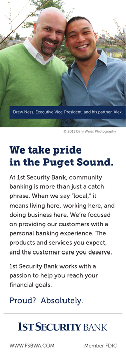 Print ad in local business journal