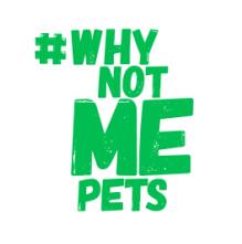 #WhyNotMePets Logo