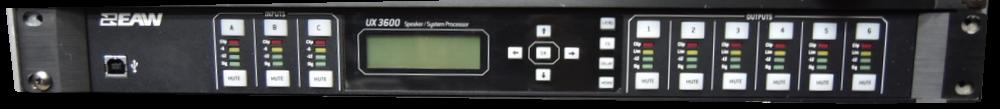 EAW UX 3600 Speaker System Processor