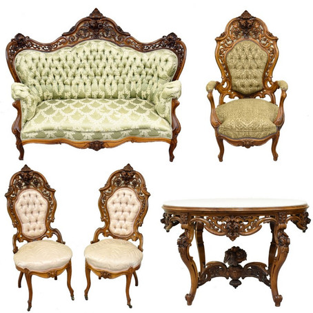Victorian Furniture Rarely Sold in the Northwest