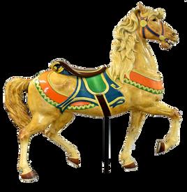Circa 1885 Dentzel Carousel Horse
