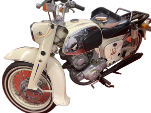1962 Honda Benly 150 Restored Motorcycle