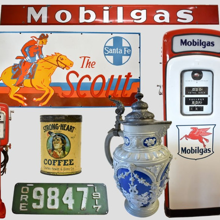 Petroliana, Automobilia, Breweriana… oh my!