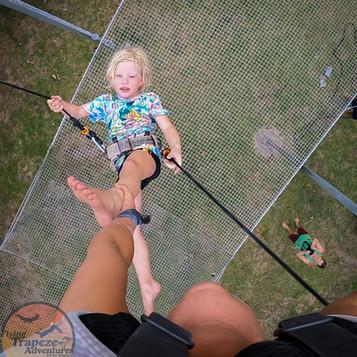 Kids on Trapeze