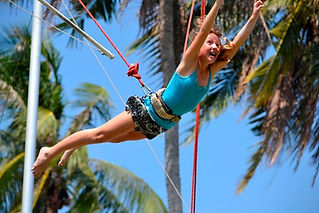 Flying Trapeze Adventure Koh Tao Beginner Catch