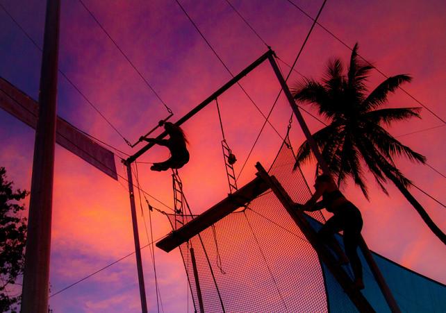 Flying Trapeze Sunset