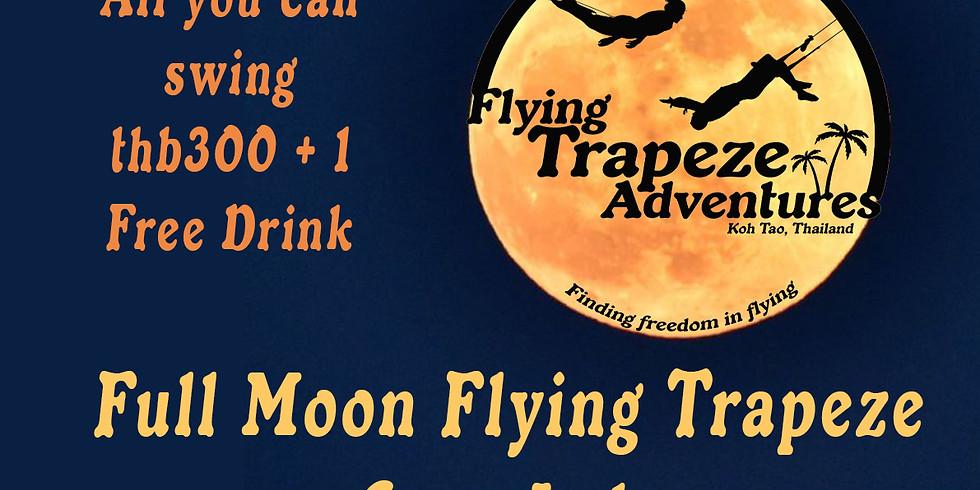Full Moon Flying Trapeze Night