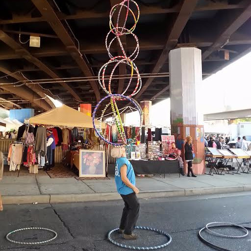 Tricks with awesome hula hoops