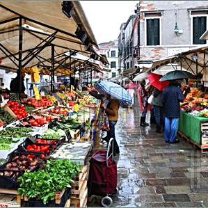 Eastern Market in the rain