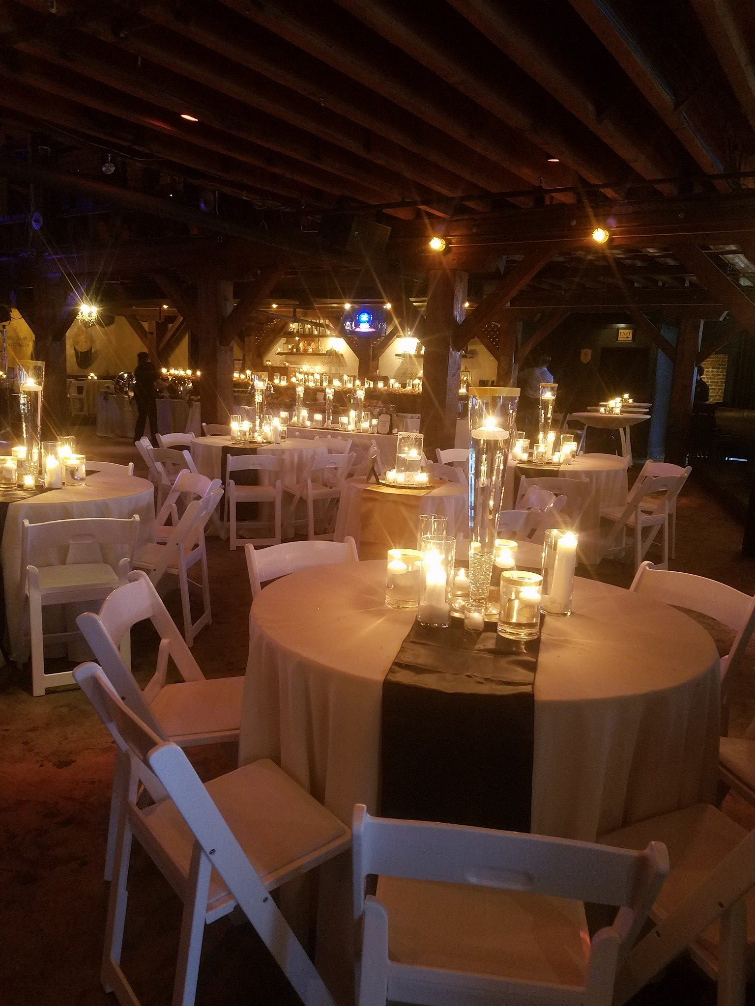 Candle light tables