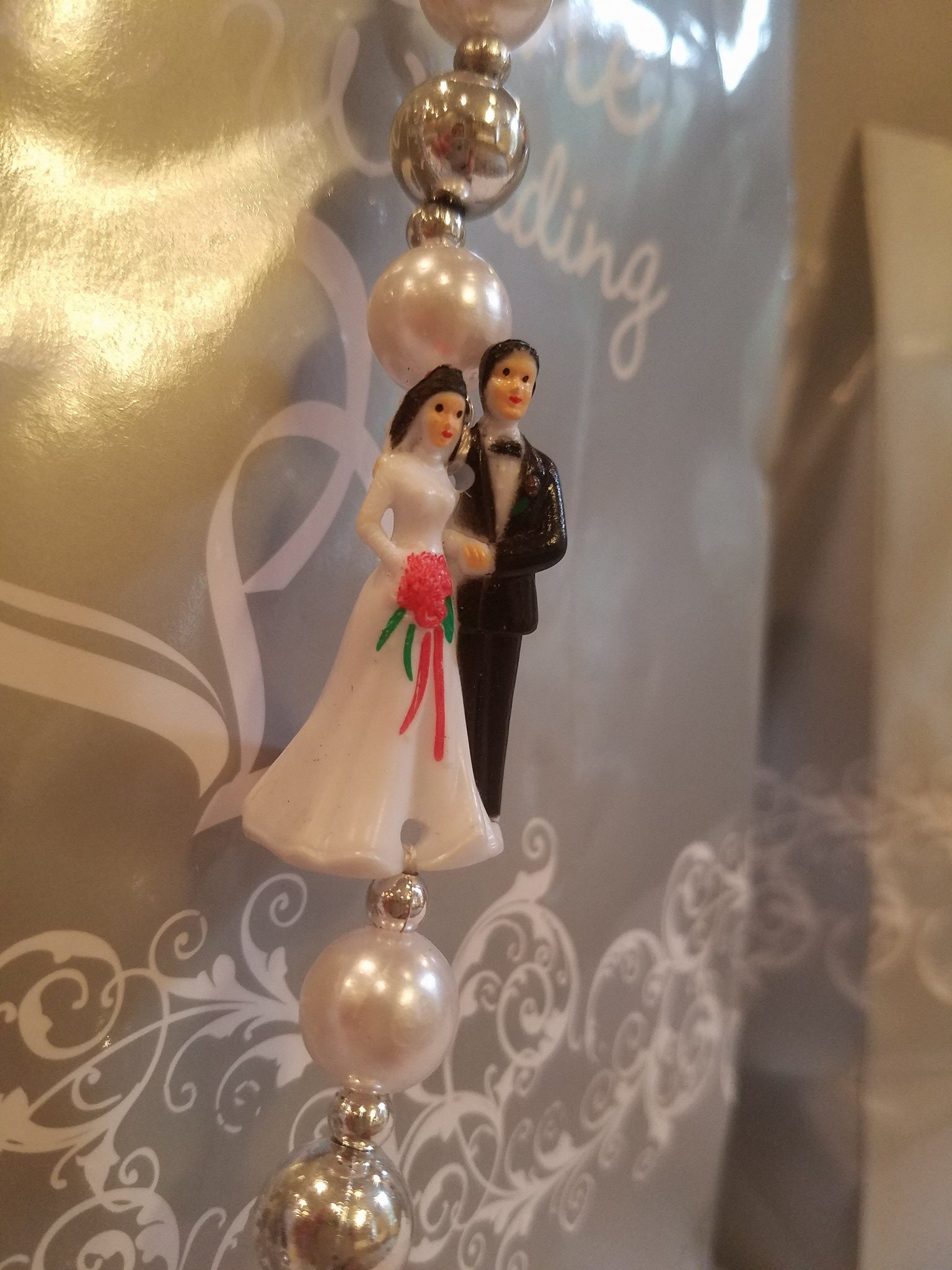 Bride and Groom bead