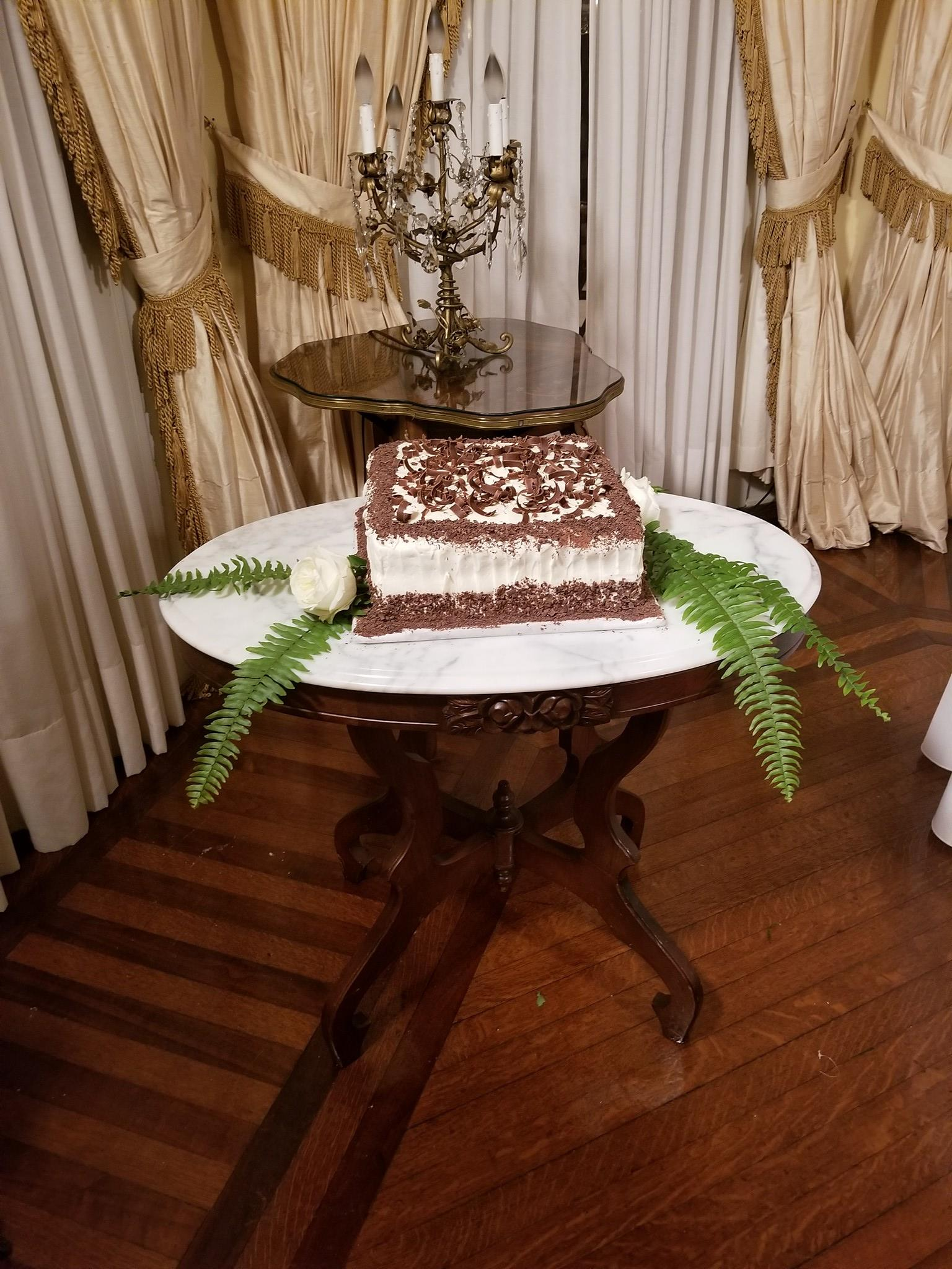 Grooms cake table