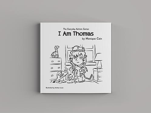 I Am Thomas Colouring Book
