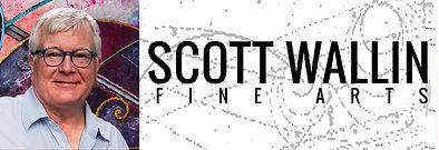 Scott Wallin Fine Arts FAA logo treatmen