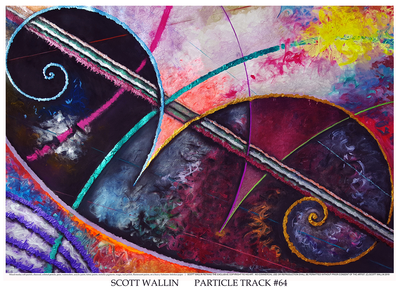 PARTICLE TRACK #64 (c) SCOTT WALLIN