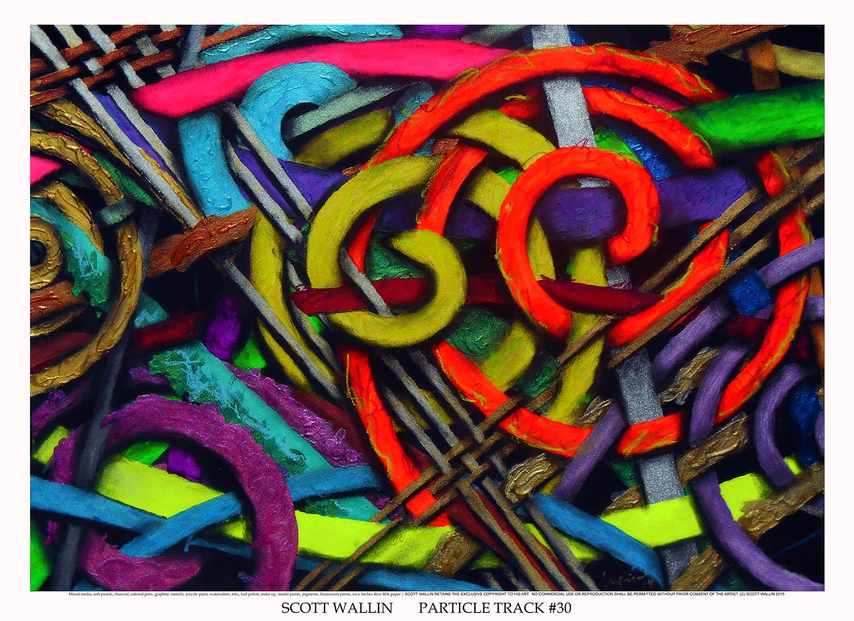 PARTICLE TRACK #30  72dpi1500 WHITE (c) 2015 SCOTT WALLIN