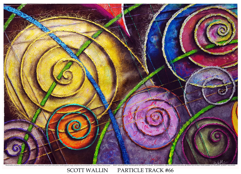 PARTICLE TRACK #66 (c) 2019 SCOTT WALLIN