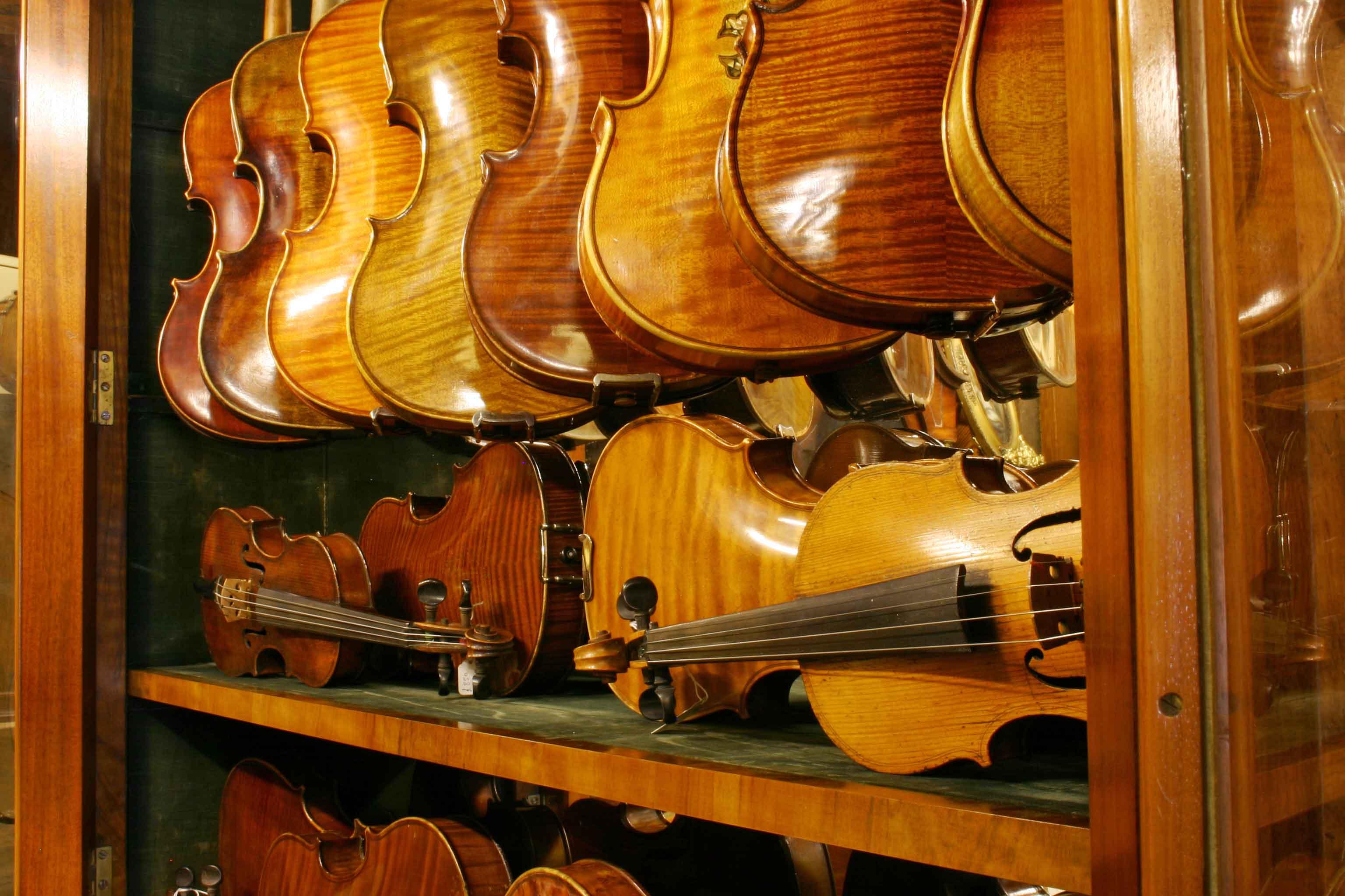 We Have a Wide Range of Violins